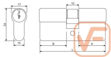 cilindru simplu nichel